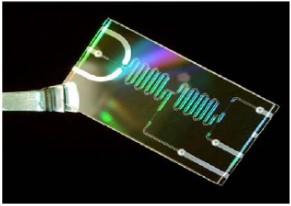 Dispositivo de microfluidica