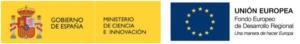 Logo ministerio de ciencia e innovación :logo Unión Europea